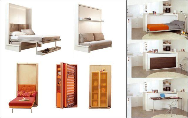 Mobiliario práctico y multifuncional
