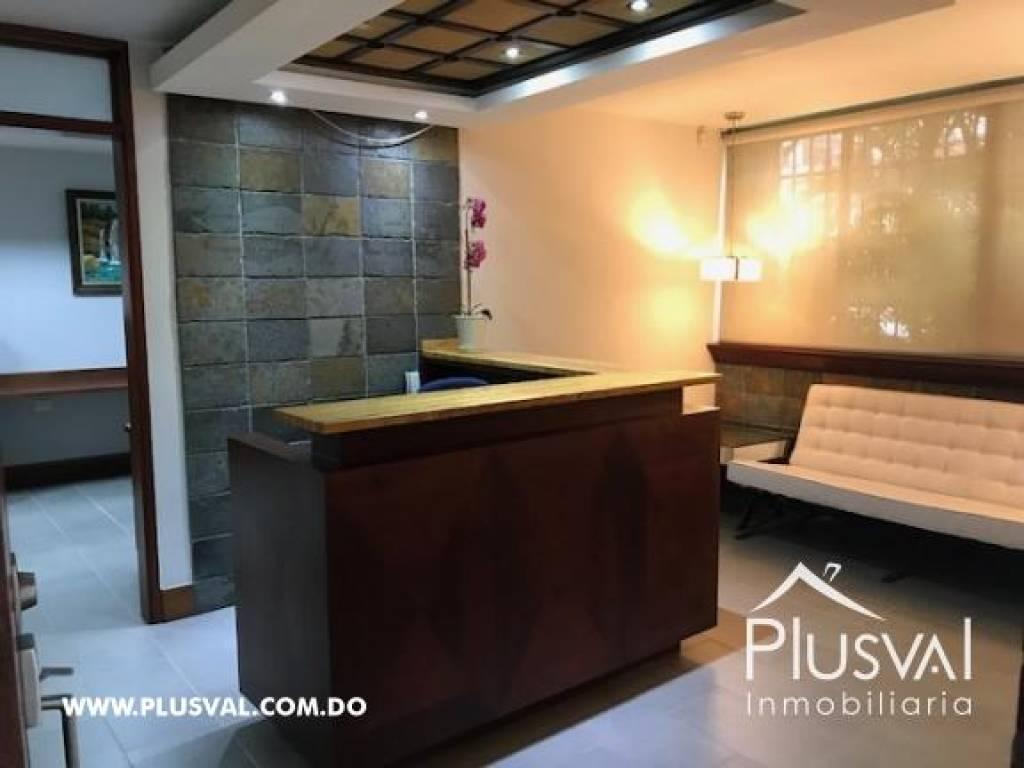 Precioso local de 150 m2 en piantini en 1 er piso de 4 for Don piso oficinas