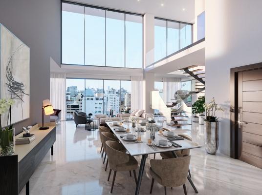 Proyecto de apartamentos en Naco, con vista al sur