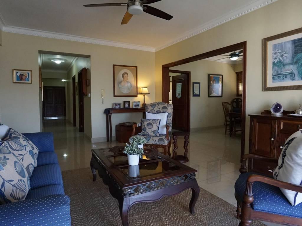 Apartamento clásico con gran terraza, Naco