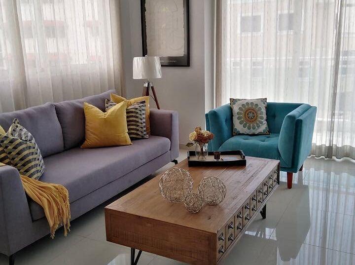 Apartamento amueblado de alquiler en Evaristo Morales