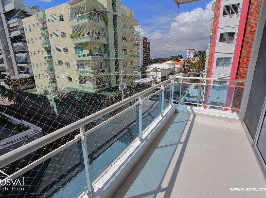 Moderno Apartamento 3 Habitaciones y Amplio Balcón en Evaristo Morales