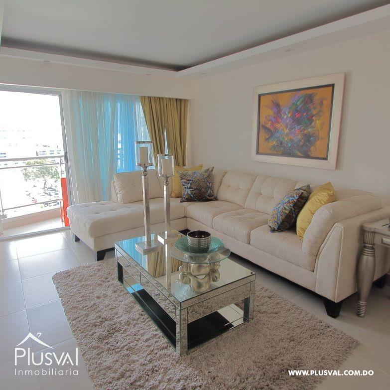 Alquiler Apartamento Amueblado de 2 Habitaciones en Piantini