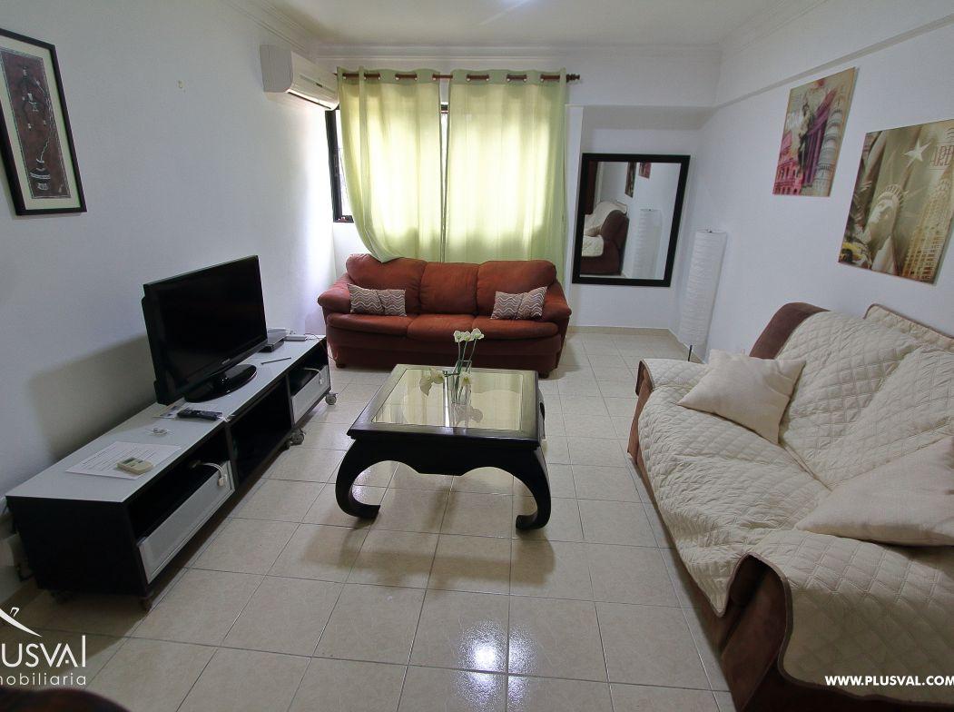 Alquiler Apartamento Estudio Amueblado en Gazcue