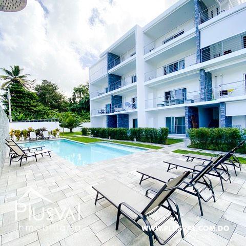 Exclusivos apartamentos de alta calidad en el centro de las terrenas que aparte de disfrutar de tu inversión genera rentabilidad ,descanso y placer.