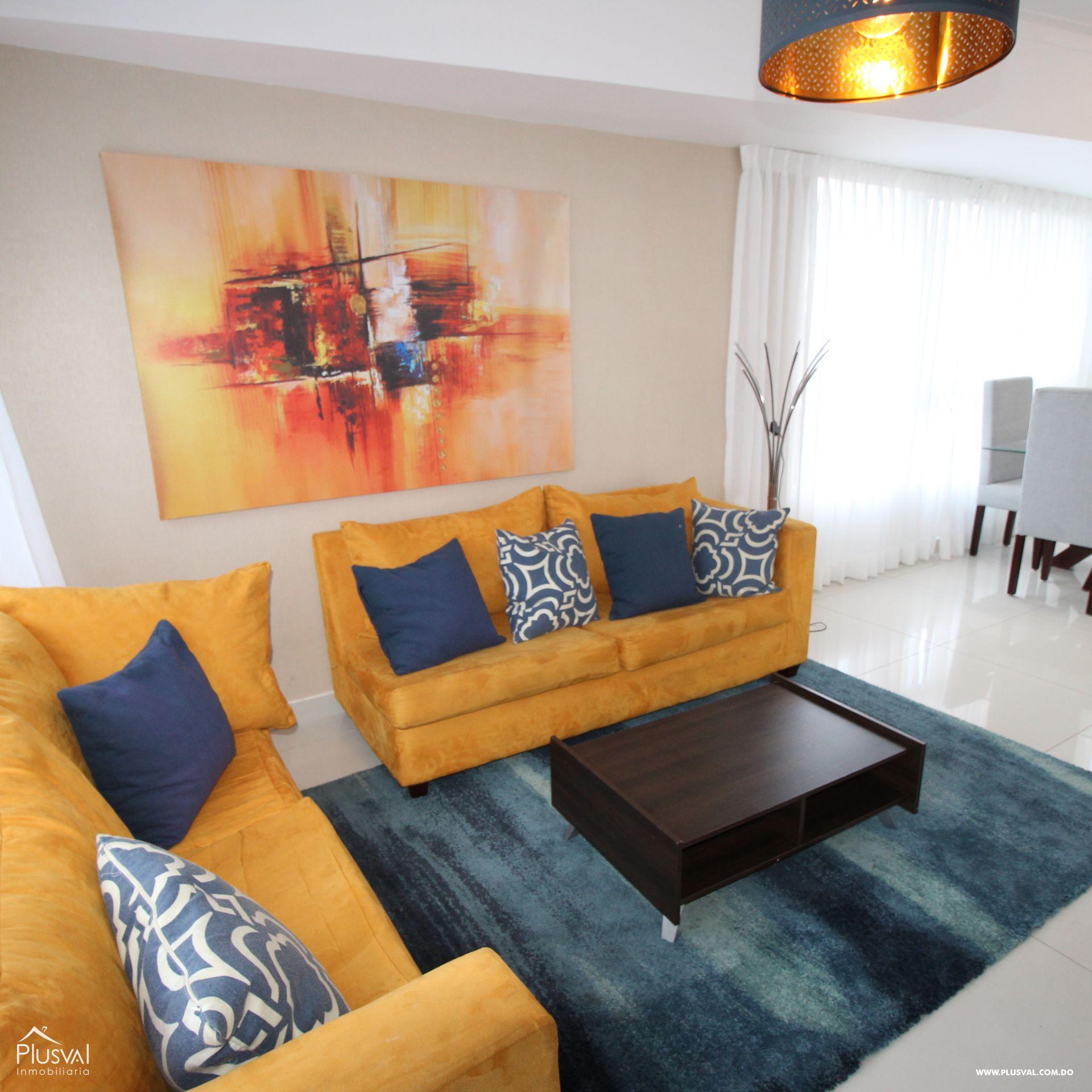 Apartamento en Alquiler Amueblado en Naco.