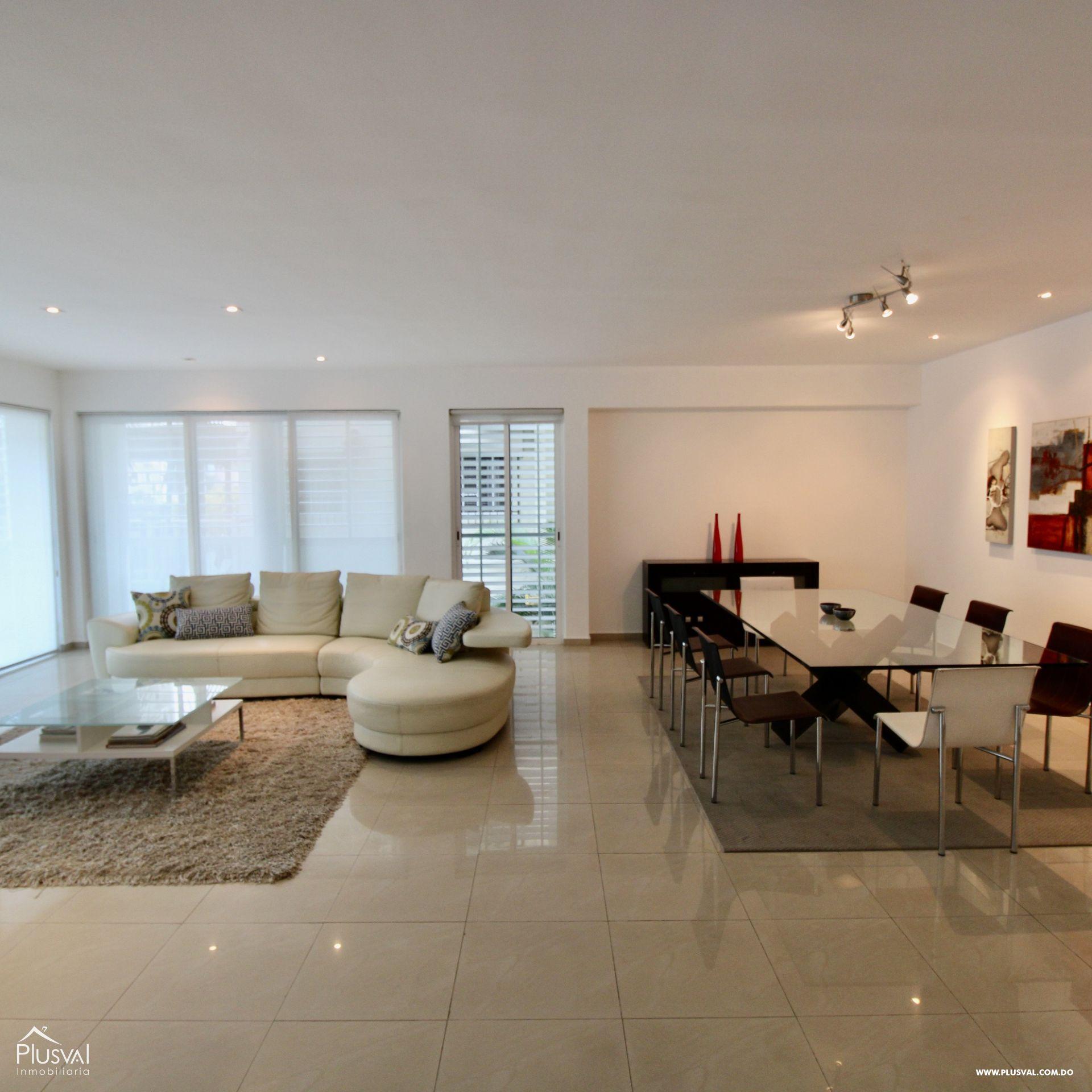 Apartamento en alquiler AMUEBLADO, 2do. Nivel, Evaristo Morales