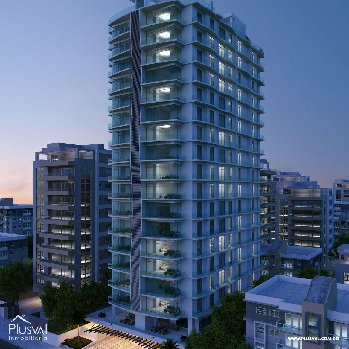 Modernos Apartamentos de venta en Piantini