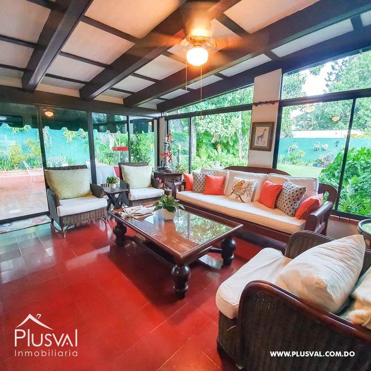 Hermosa casa en venta en Gazcue