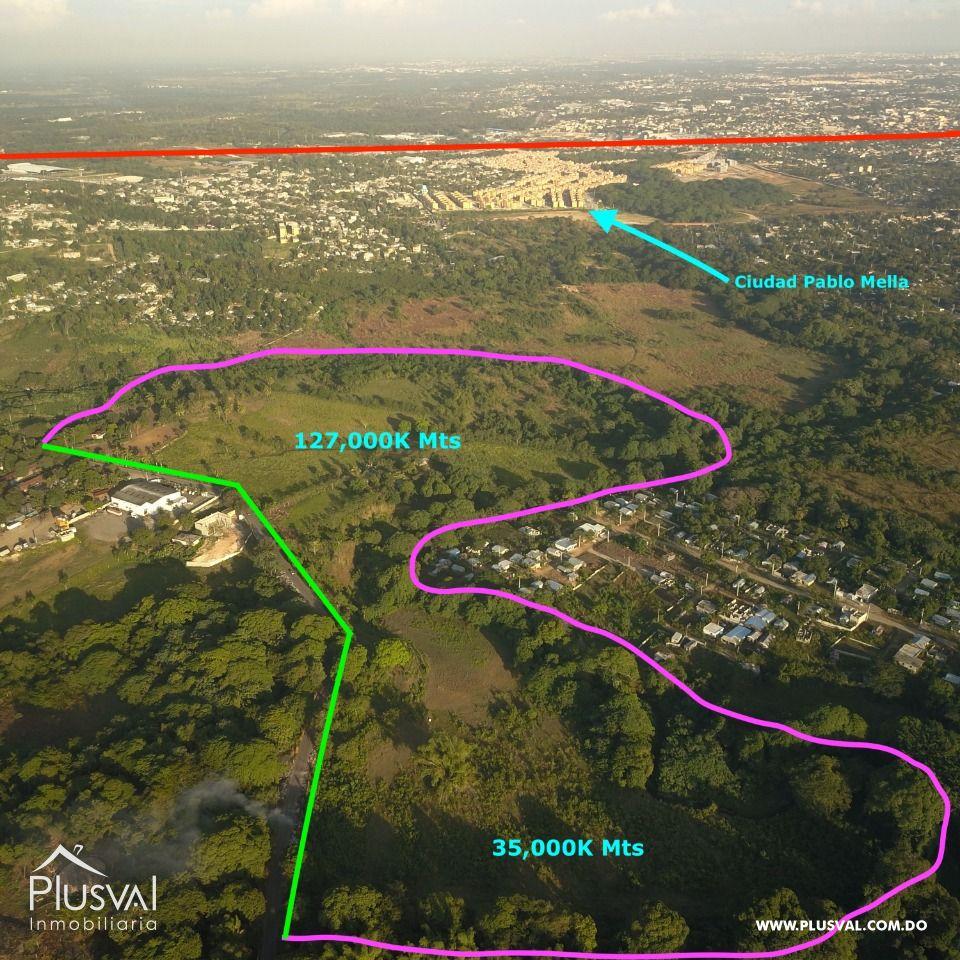 Terreno entre Aut. Duarte y Nueva circunvalación HATO NUEVO