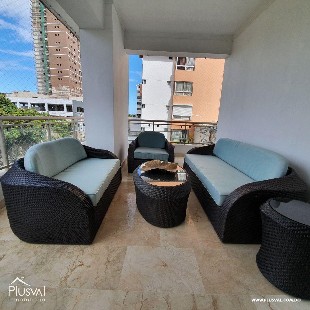 Alquiler de apartamento amueblado en Cacicazgos