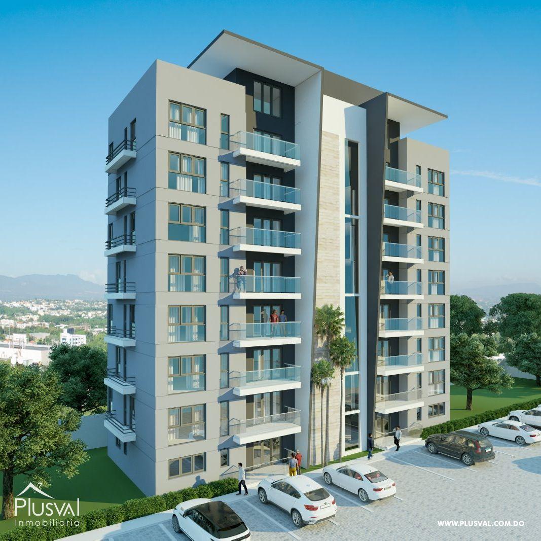 Apartamentos a la venta en hermoso proyecto con Piscina y ascensor, en El Copal