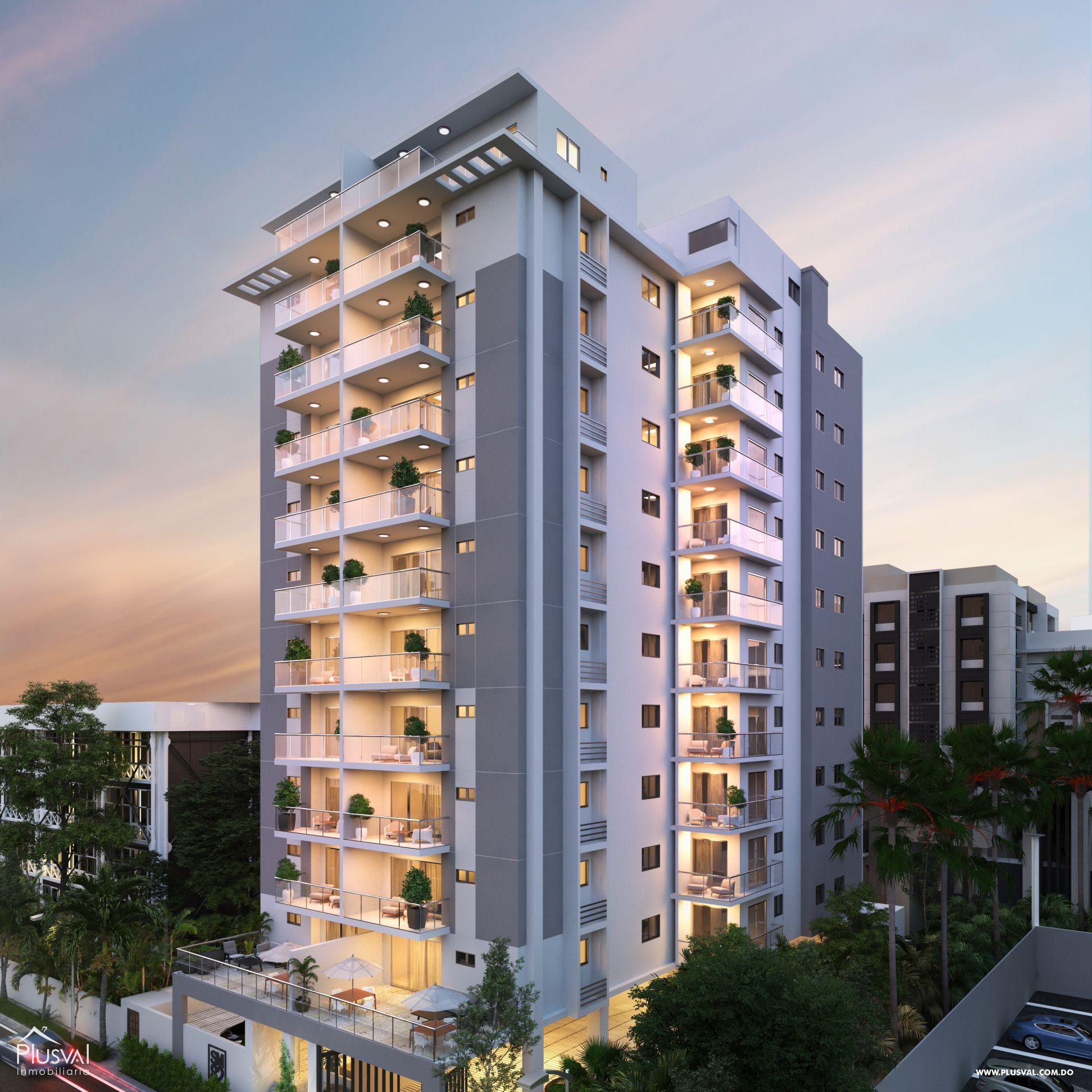 Proyecto de apartamentos en venta, Naco