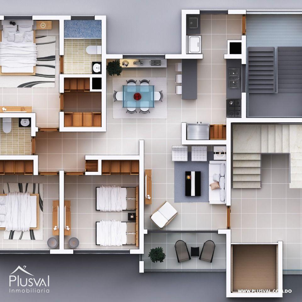 Apartamentos en venta de 3 habitaciones 140967