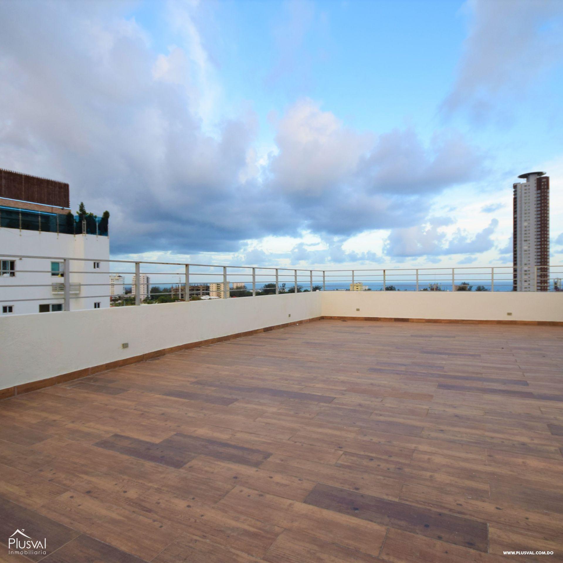 Amplio Penthouse en venta con 2 terrazas, Bella Vista