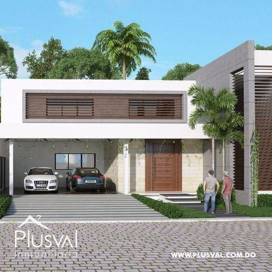Proyecto de Casas de Lujo en Construcción