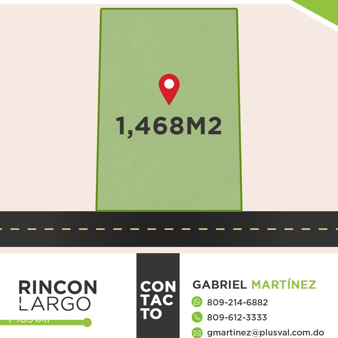 Terreno con 1,465.36 m2