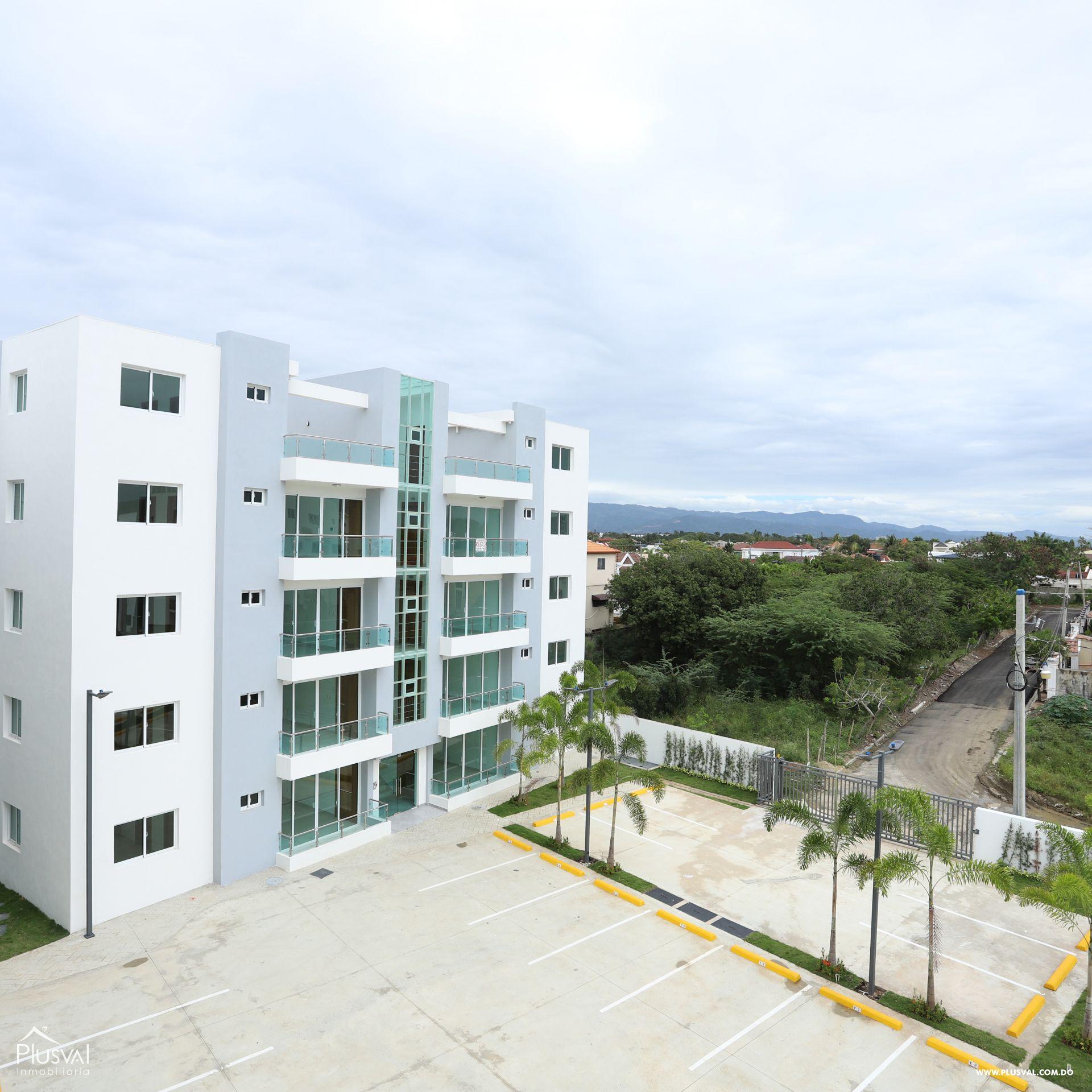 Amplios apartamentos con terminación de primera