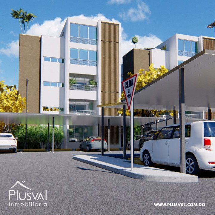 Proyecto de apartamento ubicado en el Dorado II
