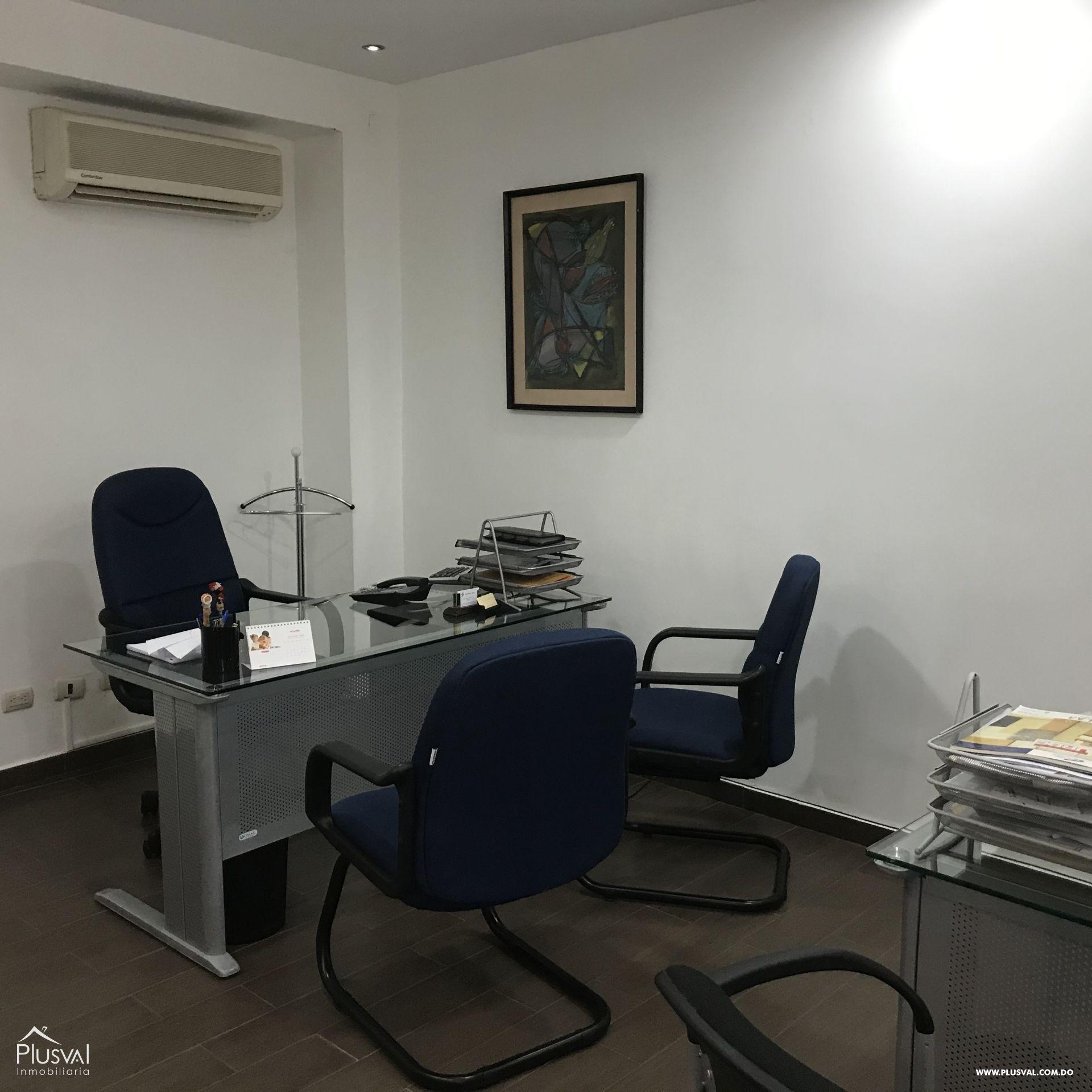 Local de oficina en alquiler en piantini amueblada y/o sin muebles