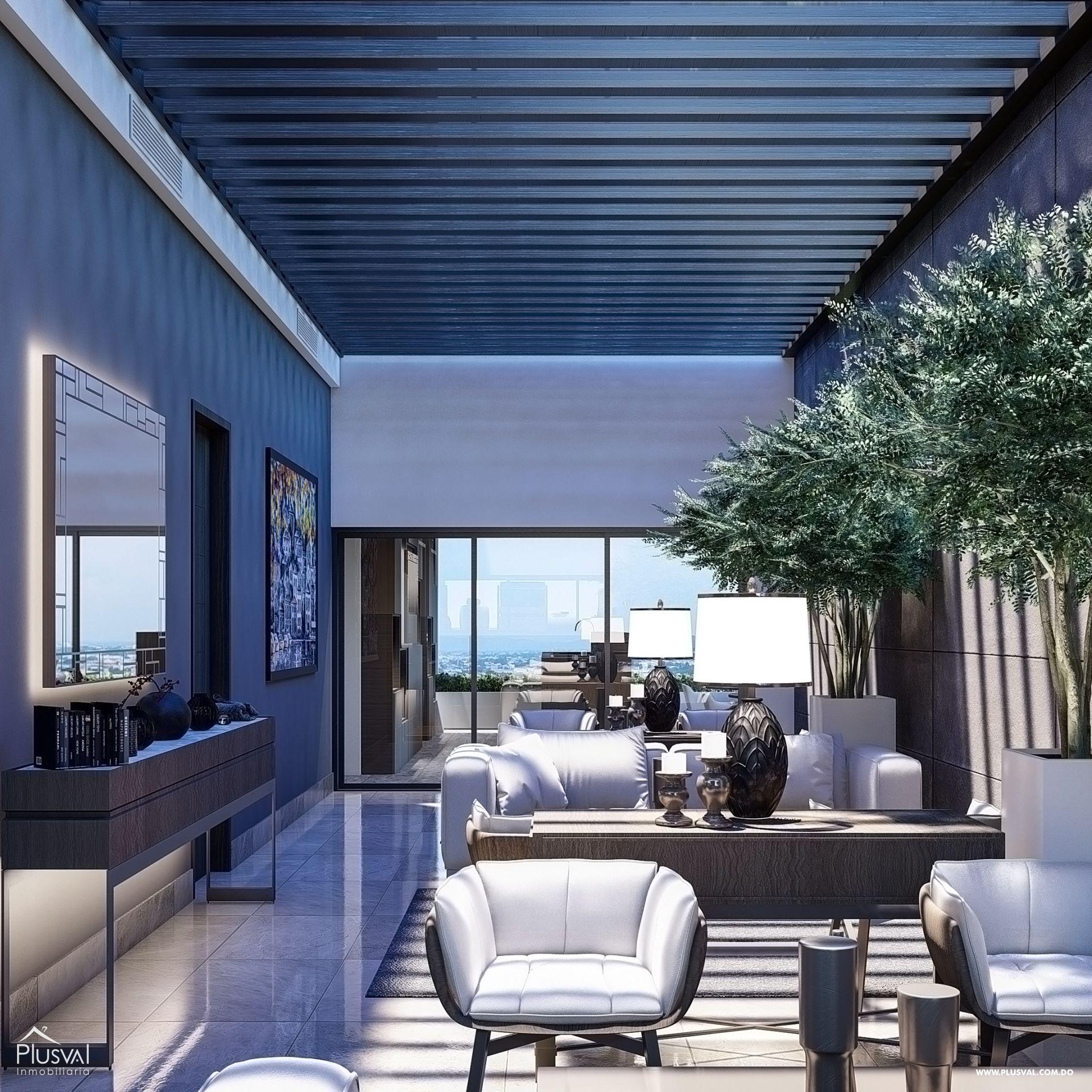 Imponente torre con apartamentos en venta uno por piso con vista al mar en Avenida Enriquillo, Cacicazgos. 144525