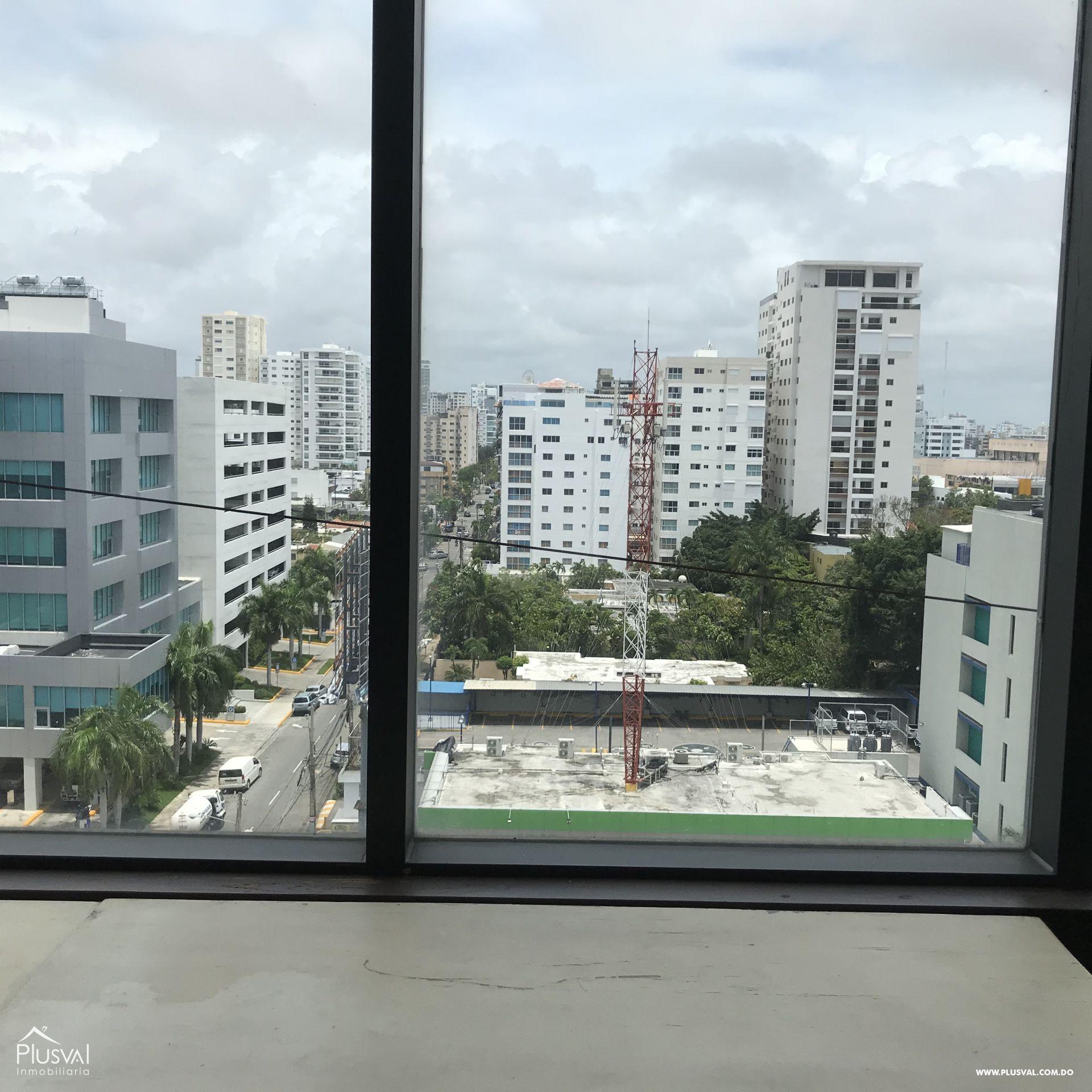 Oficina con excelente vista a la ciudad en alquiler