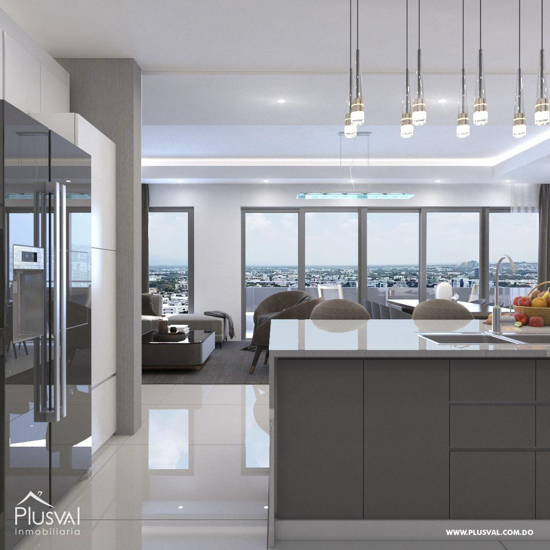 Apartamento en el primer nivel de 2 habitaciones, ubicado en La Esmeralda, Santiago 144679