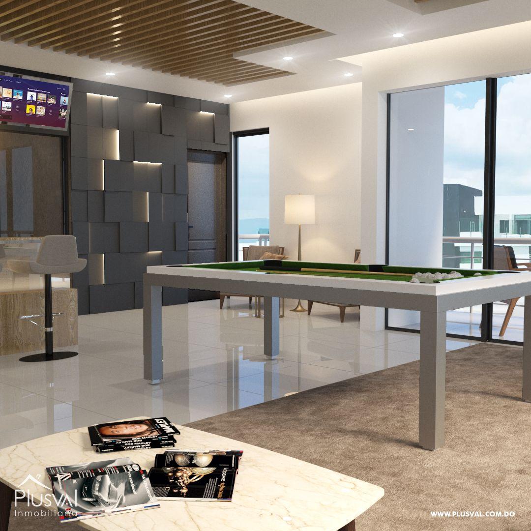 Apartamento en el primer nivel de 2 habitaciones, ubicado en La Esmeralda, Santiago 144684