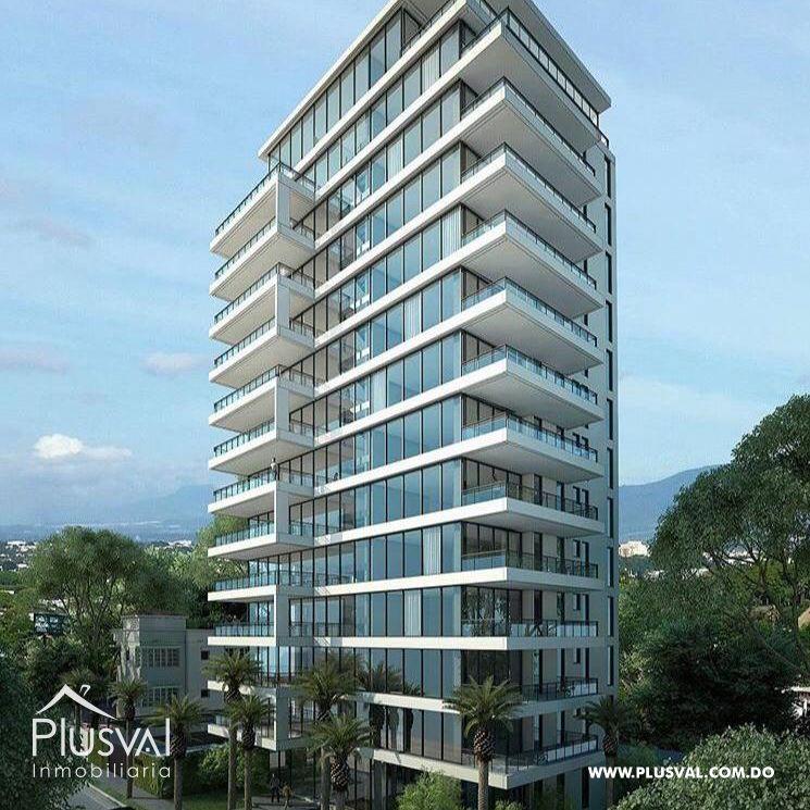 Apartamento en el primer nivel de 2 habitaciones, ubicado en La Esmeralda, Santiago 144686
