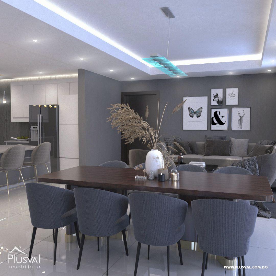 Apartamento en el primer nivel de 2 habitaciones, ubicado en La Esmeralda, Santiago 144687