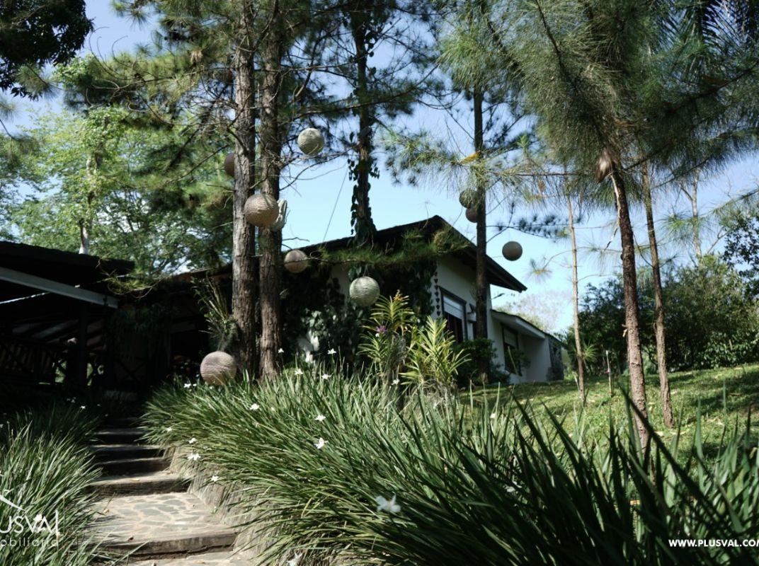 Casa campestre en venta en el km 32