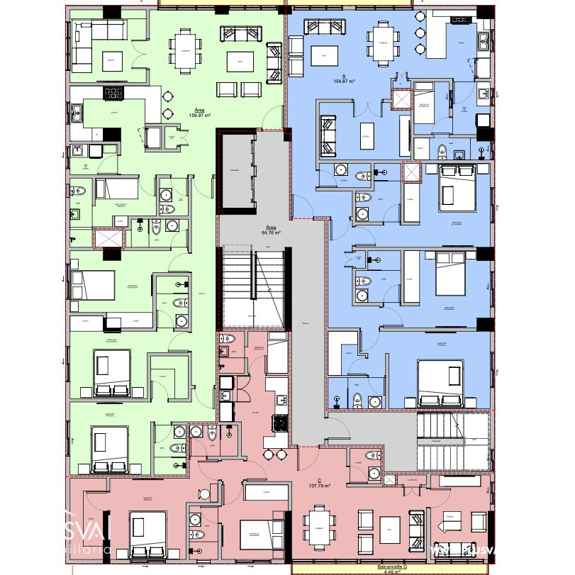 Proyecto de apartamentos Vanguardista en Bella Vista 145425