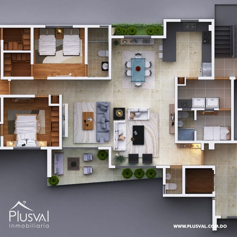 Apartamento en Venta en Cerros de Gurabo 146144