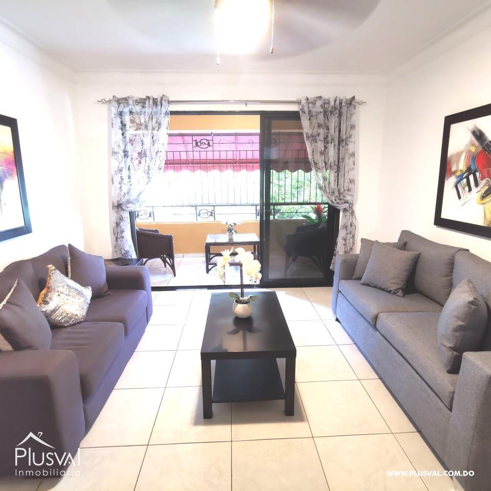 Apartamento AMUEBLADO en alquiler en Paraiso