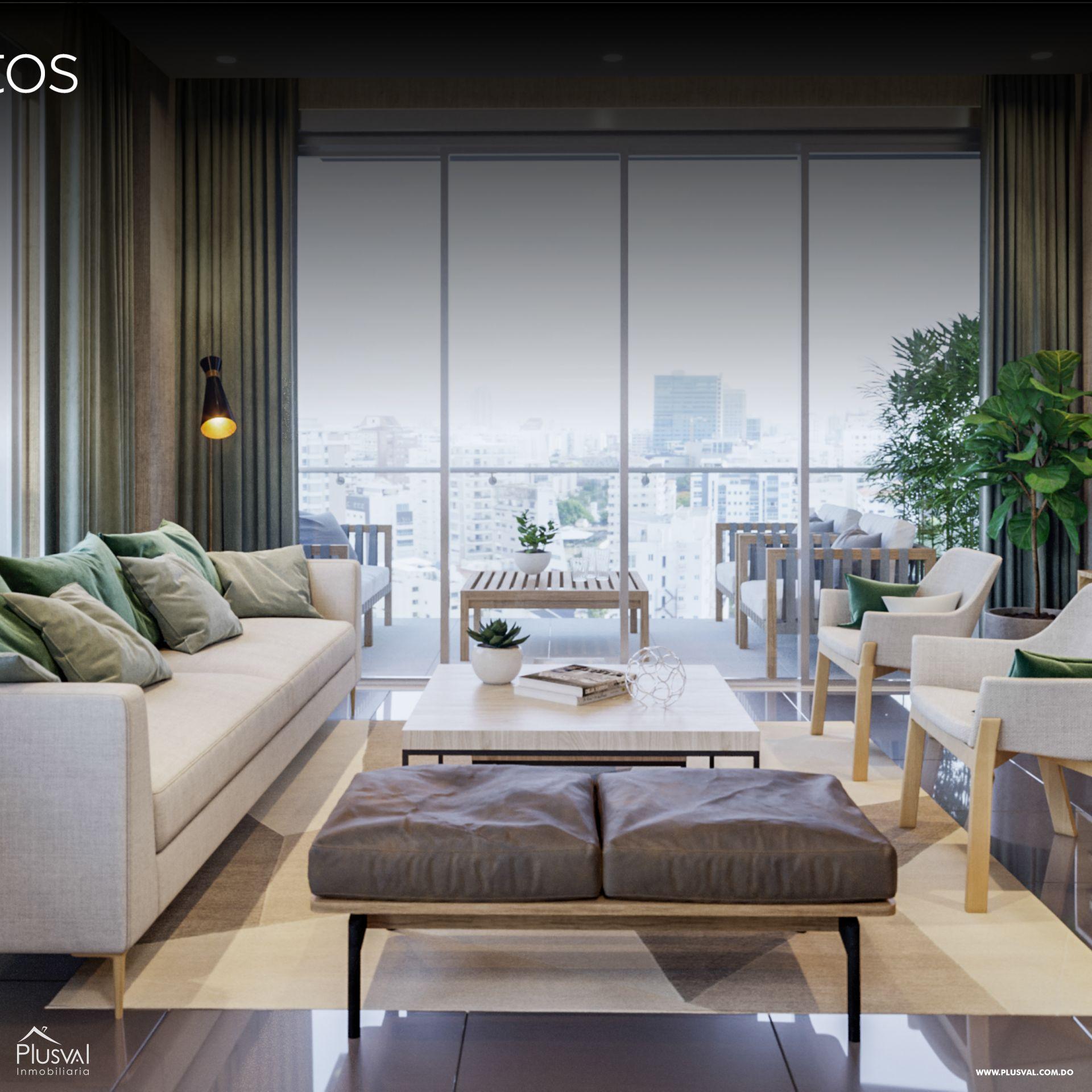 Espectacular proyecto de apartamentos en venta en Evaristo Morales