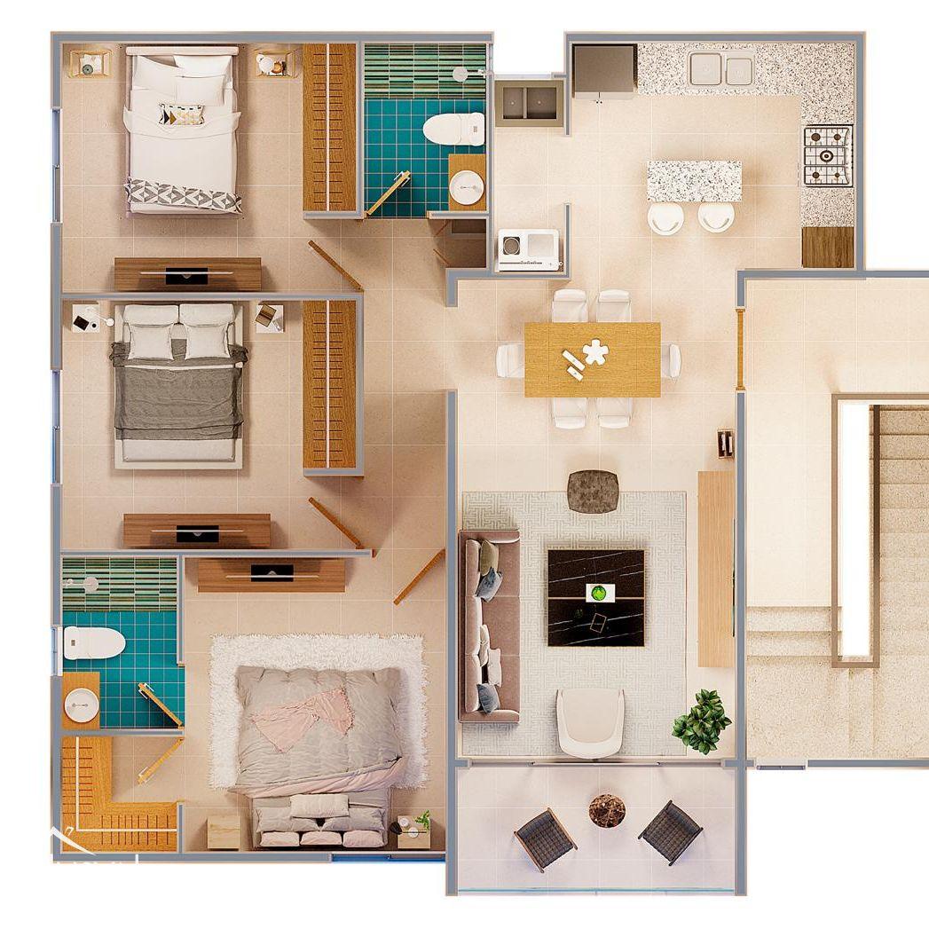 Apartamentos en padre las Casas con piscina 147020