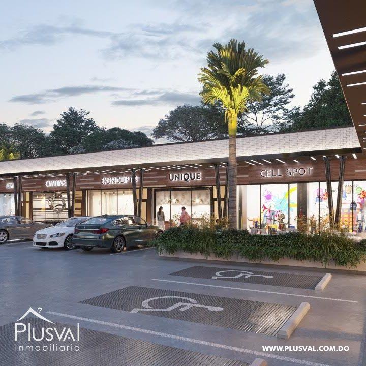 Plaza comercial de un nivel  Arroyo Hondo Viejo