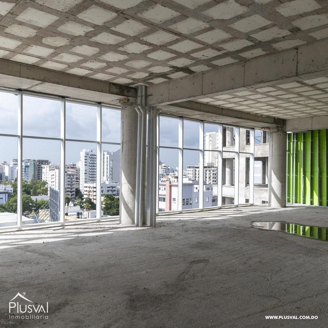 Parque Habitat proyecto comercial, corporativo y empresarial con locales y oficinas en alquiler en Piantini.