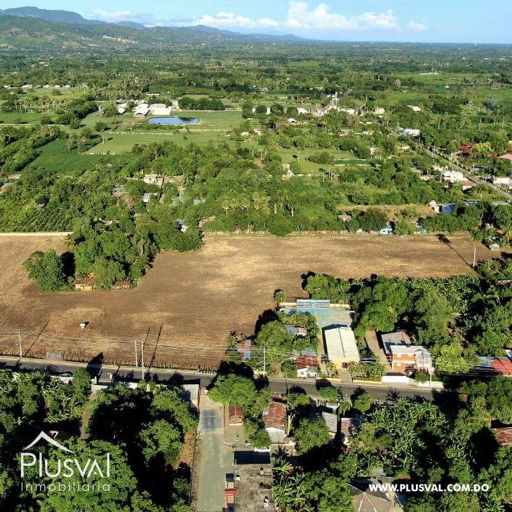 Terreno ubicado en Tamboril