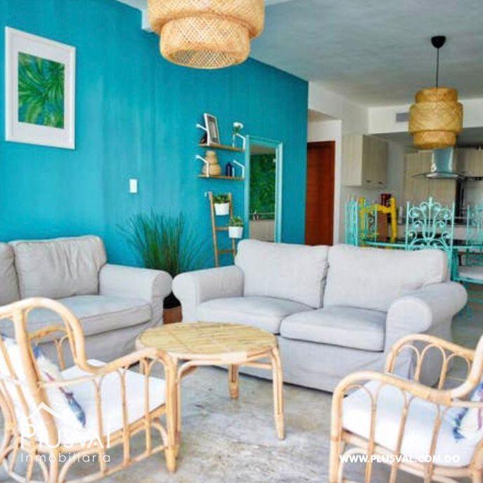 Apartamento de 2 habs en venta, en primera linea de playa La Romana 148332