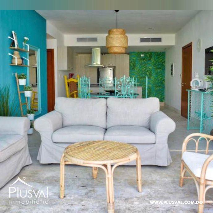 Apartamento de 2 habs en venta, en primera linea de playa La Romana 148333