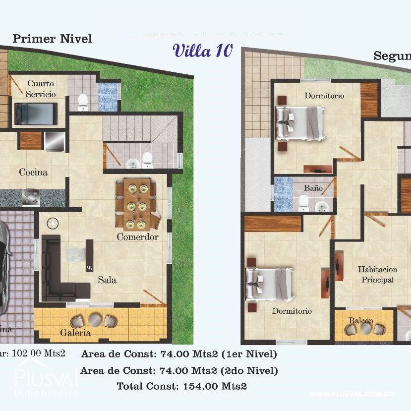 Casa en Venta de Dos niveles. Sector de Lucerna 149042