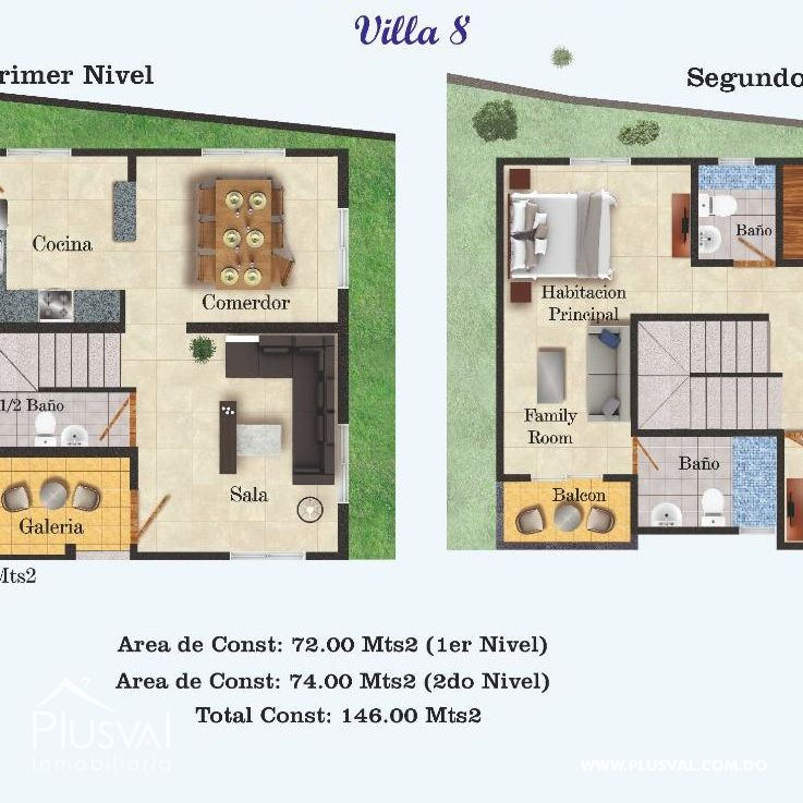 Casa en Venta de Dos niveles. Sector de Lucerna 149043