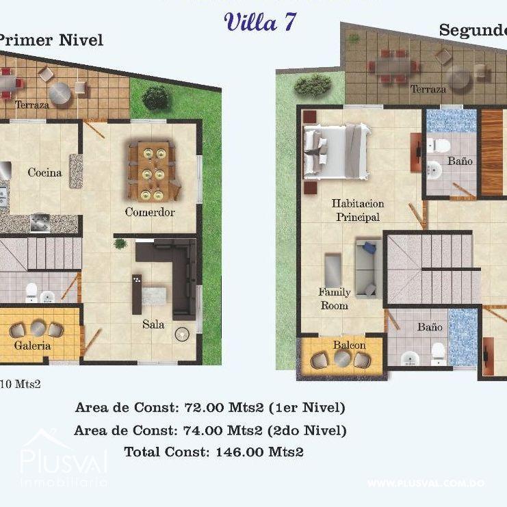 Casa en Venta de Dos niveles. Sector de Lucerna 149044