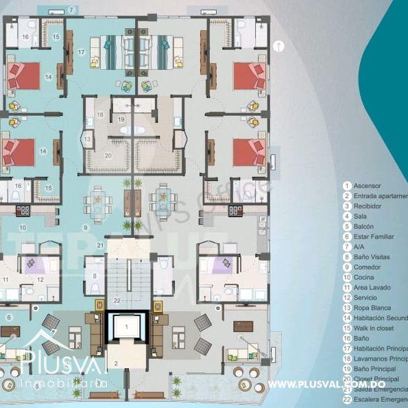 Proyecto de Apartamentos en Venta en Bella Vista 149322
