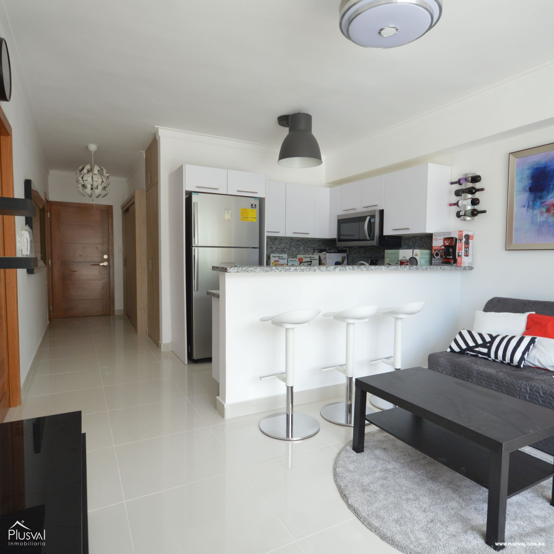 Apartamento alquiler, Gazcue