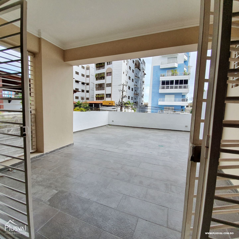 Alquiler Apartamento con Piscina Arroyo Hondo Viejo 3 Habs, 3 parqueos y Terraza