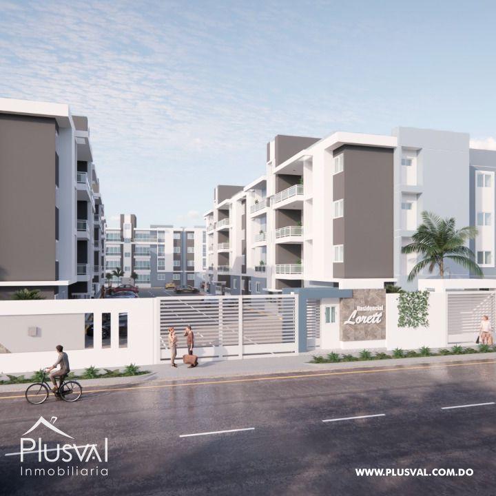 Proyecto de apartamentos en la Av. La pista Hainamosa