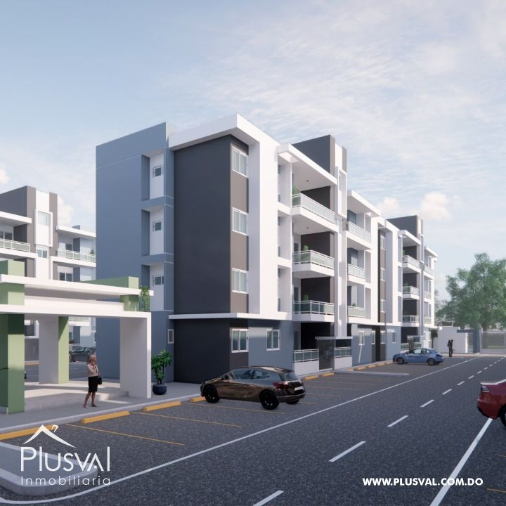 Proyecto de apartamentos en la Av. La pista Hainamosa 150280