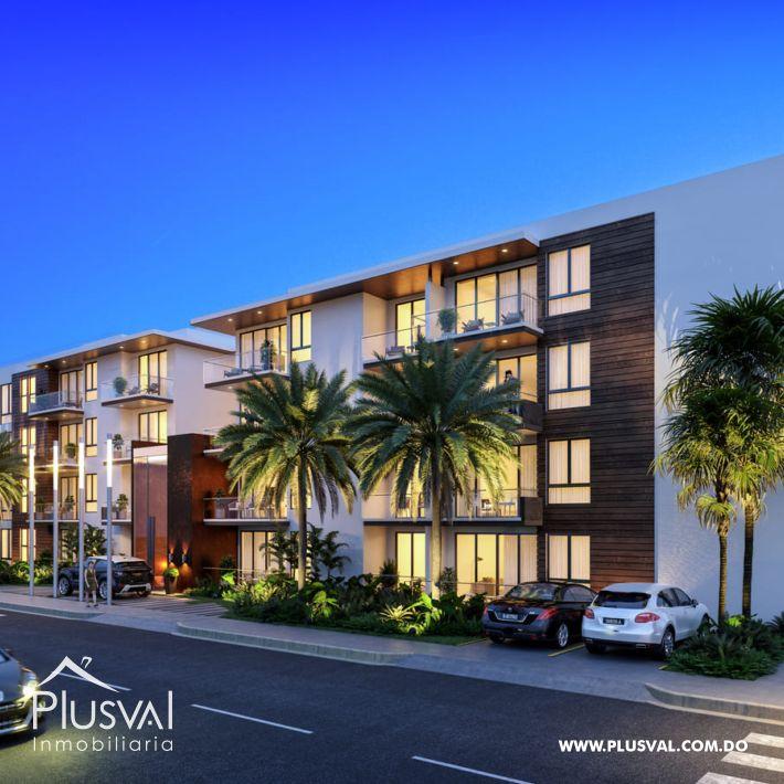 Venta de apartamentos 2 habitaciones, en Puntacana Village